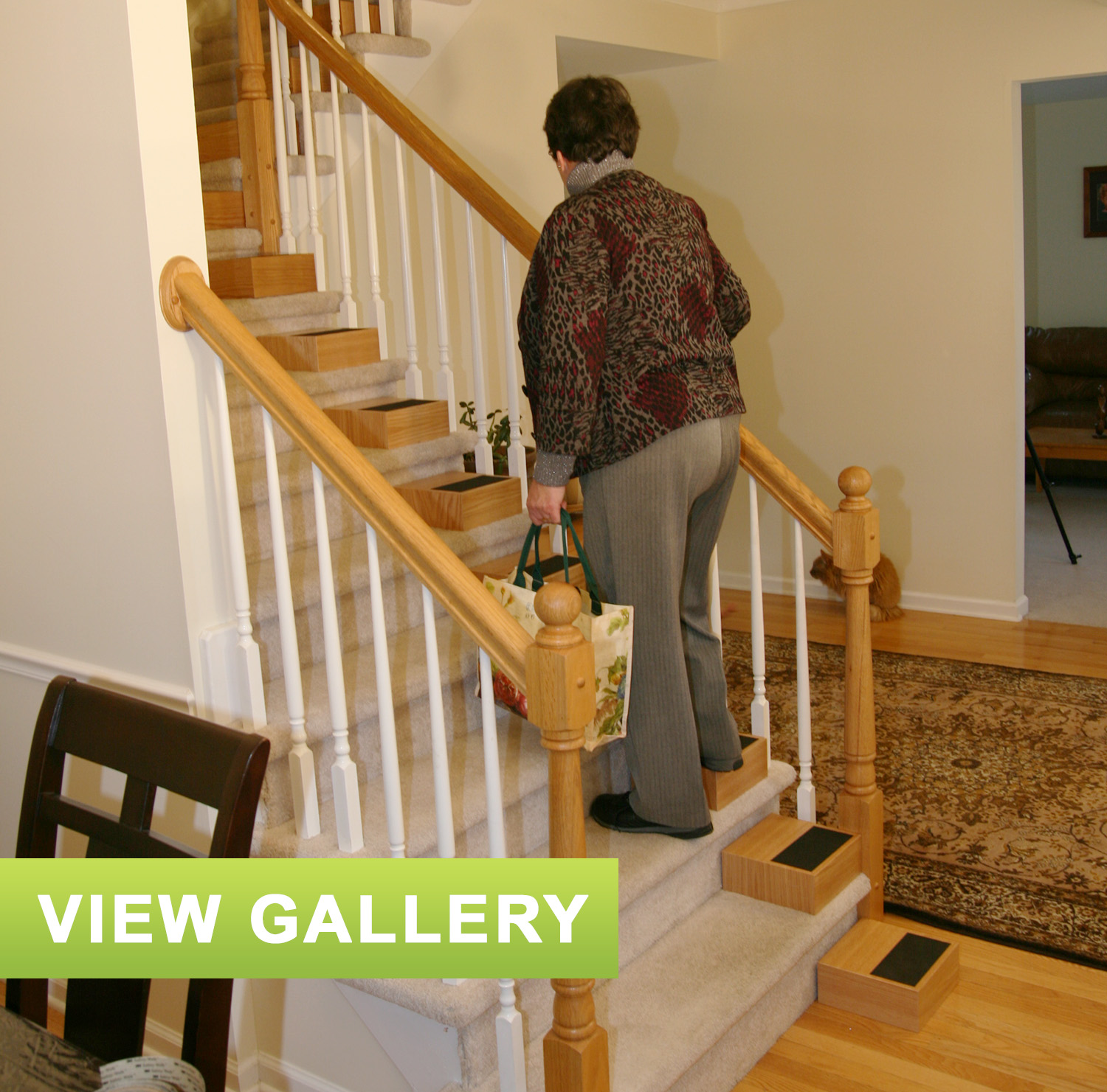 Your Stair Lift Alternative Smaller Steps Are Easier Steps | Stair Aide
